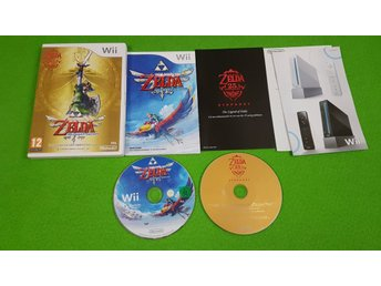 Zelda Skyward Sword Limited Edition KOMPLETT Nintendo Wii