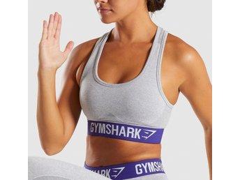 fbd33398253a1 Gymshark Flex Sports Bra Sportbh BH Grå Lila G.. (339885680) ᐈ Köp ...