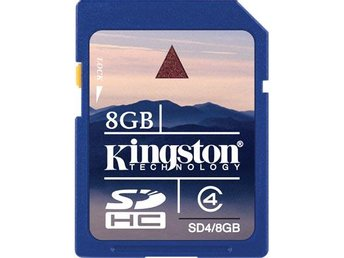8GB Kingston SDHC C4