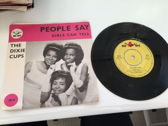 THE DIXIE CUPS - PEOPLE SAY (SVERIGE)
