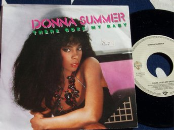 "DONNA SUMMER - THERE GOES MY BABY 7"" 1984"