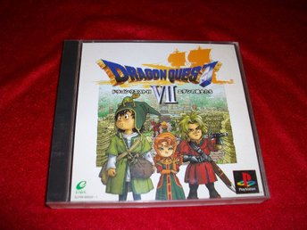 Dragon Quest VII  RPG PS1 JAP