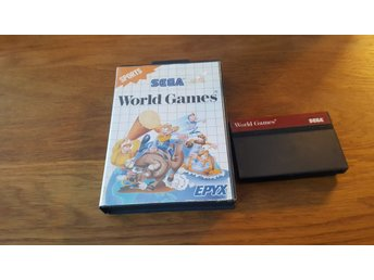 WORLD GAMES BOXAD MASTER SYSTEM