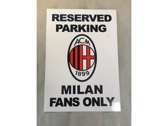 Reserved parking MILAN FANS ONLY