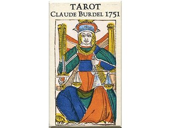 Tarot Claude Burdel 1751-Reproduction - Numbered Limited 9781572818699