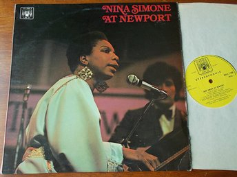 NINA SIMONE - At Newport, LP Marble Arch UK 1969