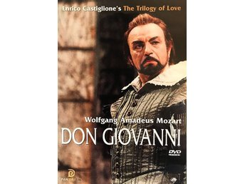 DON GIOVANNI  - MOZART  - DVD - OOP