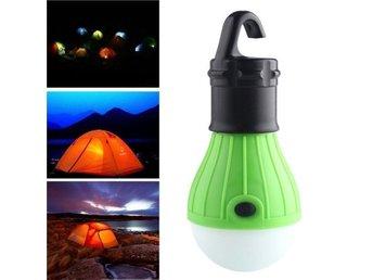 Grön Portable Hanging Led Lantern Camping Tent 335929046