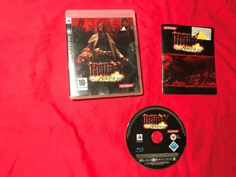 HELLBOY THE SCIENCE OF EVIL PS3 PLAYSTATION 3 OK SKICK
