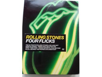 Rolling Stones FourFlicks 4 DVD-box
