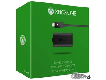 Microsoft Xbox One Play and Charge Kit Svart