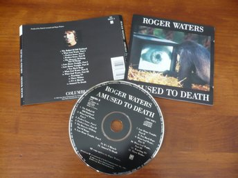 CD: ROGER WATERS - Amused To Death (1992) Pink Floyd