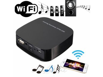 WiFi Wireless Music Streaming Receiver DLNA Airplay (Ios, Android)