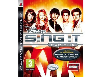 Disney Sing It Pop Hits (endast spelet) - Playstation 3 - HELT NYTT/INPLASTAT