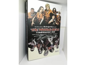 Signerade! Walking Dead Compendium One & Two + 5 osignerade volymer