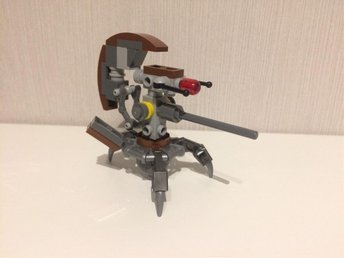 Lego - Star Wars - Droideka (Sniper Droid) från set 75002