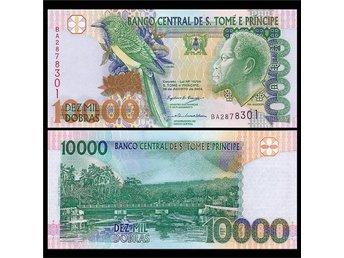 Sao Tomé och Príncipe 10 tusen Dobra 2004 - China Shanghai - Sao Tomé och Príncipe 10 tusen Dobra 2004 - China Shanghai