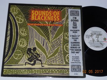 "SOUNDS OF BLACKNESS - I'm going all the way, 12"" singel, Perspective UK 1994"
