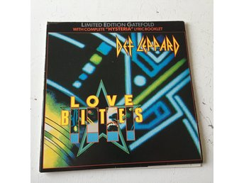 "DEF LEPPARD - LOVE BITES. LIMITED EDITION (NM 7"")"