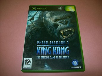 KING KONG THE OFFICIAL GAME OF THE MOVIE KOMPLETT (X-BOX)
