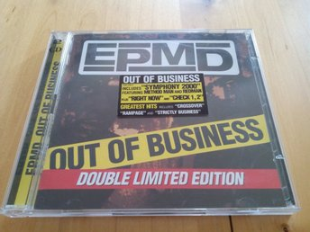 EPMD / Out of Business - Double Limited Edition / 1999 (sällsynt!)