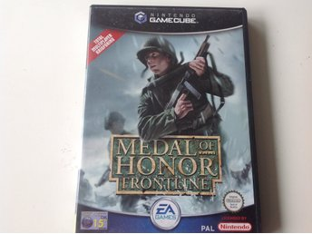 Gamecube spel Medal of Honer Frontline!