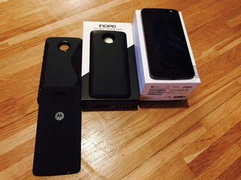 MOTOROLA MOTO Z MED INCIPIO POWER PACK OCH 2 SKAL