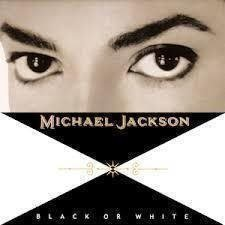"Vinyl-singel Michael Jackson ""Black or white"""