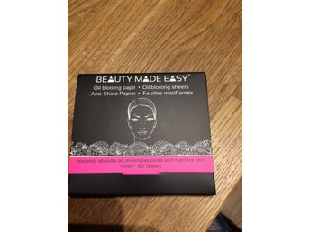 Beauty Made Easy - Oil blotting sheets