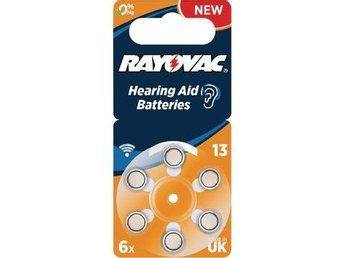 Rayovac Zink-Air Battery PR48 1.4 V 6-Blister
