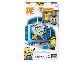 Mega Bloks Despicable Me Factory Fiasco
