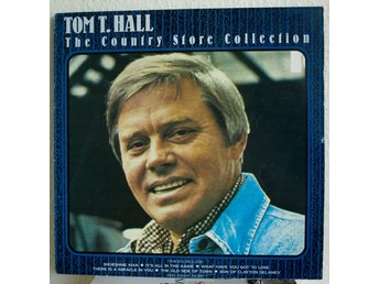LP. TOM T. HALL - THE COUNTRY STORE COLLECTION. UK.