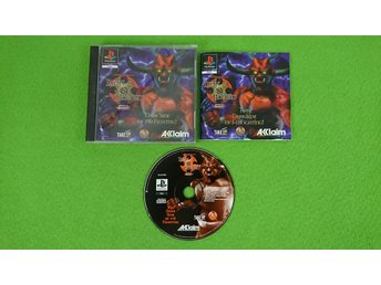 Advanced Dungeons & Dragons Iron & Blood KOMPLETT Playstation PSone ps1