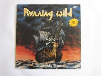 Running Wild -Under jolly roger lp  Original 1987 Noise pres