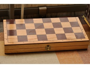 Schack backgammon brädspel