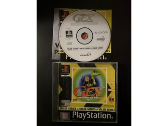 Gex: Deep Cover Gecko PS1 Playstation 1