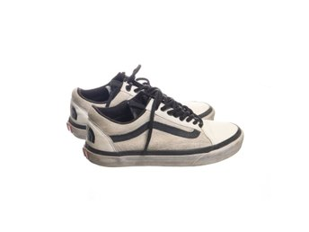 Vans off the wall, Sneakers, Strl: 38,5, The north face, Vit/Svart