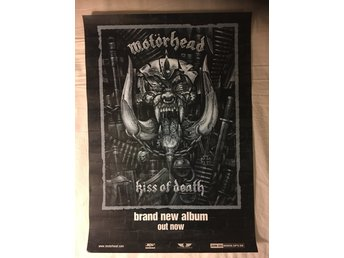 Motörhead promoaffisch kiss of death