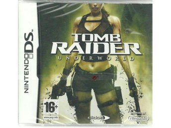 TOMB RAIDER -UNDERWORLD ( INPLASTAT DS  SPEL)