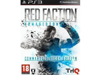 Red Faction: Armageddon Commando & Recon Edition - Sällsynt - Nytt till PS3!!!