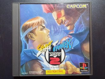 Street Fighter Zero 2 (Street Fighter Alpha 2 ) till Playstation - Japanskt