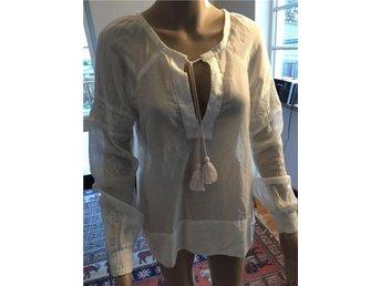 Odd Molly dam bluse vit silke 1 - Järfälla - Odd Molly dam bluse vit silke 1 - Järfälla