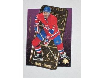 "1995-96 Pierre Turgeon #15 SP Stars Etoiles ""GOLD"" - Tingsryd - 1995-96 Pierre Turgeon #15 SP Stars Etoiles ""GOLD"" - Tingsryd"