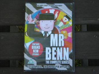 Mr Benn, brittisk tecknad TV-serie. Ny inplastad DVD. - Uppsala - Mr Benn, brittisk tecknad TV-serie. Ny inplastad DVD. - Uppsala