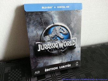Jurassic World (Limited STEELBOOK) (2015) Chris Pratt, Vincent D Onofrio