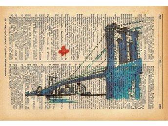 Brooklyn - Skriva ut på italienska-franska lexikon 1939 - Melfi - Brooklyn - Skriva ut på italienska-franska lexikon 1939 - Melfi