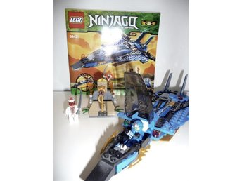 **LEGO NINJAGO SET 9442 JAYS STORM FIGHTER**