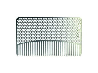 Go-Comb Stainless Steel Mesh Fine Tooth
