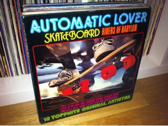 Automatic Lover, Skateboard, 18 topphits LP 1978 (Jigs Schytts)