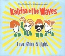"Eurovision 1997 UK Katrina & The waves ""Love shine a light"" CD-single"